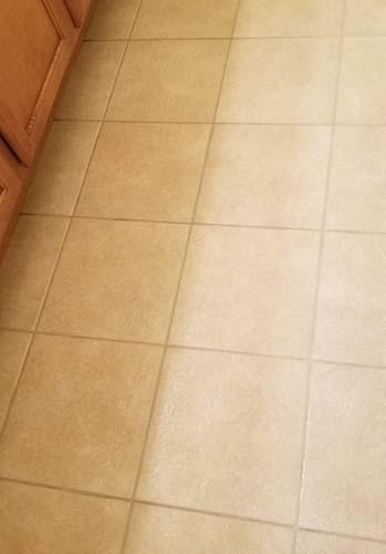 tile grout clean