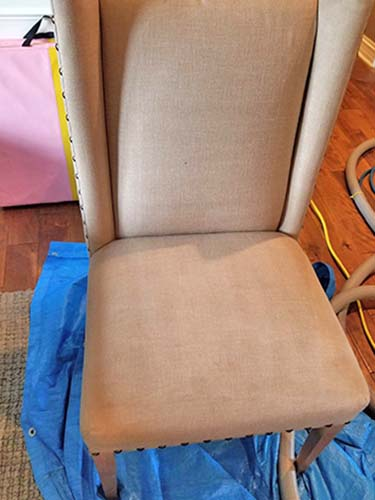 Upholstery Cleaning After