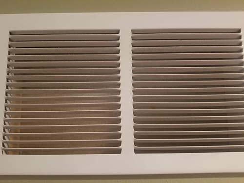 Vent cleaning after